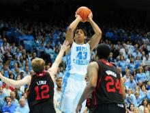 NC State led UNC with seven and a half minutes to play, but the Tar Heels closed the game on a 24-8 run and defeated the Wolfpack 76-65 Saturday at Dean E. Smith Center in Chapel Hill. UNC (19-8, 9-5) moves into third place in the ACC with the win while NC State (19-8, 8-6) falls back to fifth in the conference.