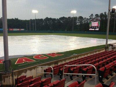 Sunday's series-deciding game between the University of North Carolina and North Carolina State was cancelled due to rain and will not be rescheduled.