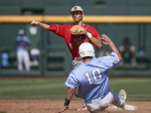 NCAA Baseball 2013:  North Carolina State vs North Carolina June 16