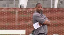 Mike Minter, head football coach at Campbell University.