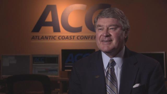 John Swofford, commissioner of the ACC