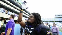 IMAGES: Slideshow: East Carolina routs UNC, 55-31