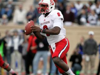 N.C. State's Brandon Mitchell during the Wolfpack's visit to Duke on November 9, 2013 in Durham, NC.  Duke defeated N.C. State 38-20 (Photo by Jack Morton).