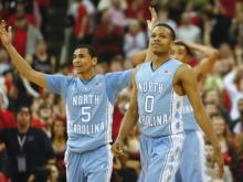 UNC trailed NC State for nearly 35 minutes of regulation Wednesday night, but took the lead late and forced overtime where they topped the Wolfpack, 85-84.