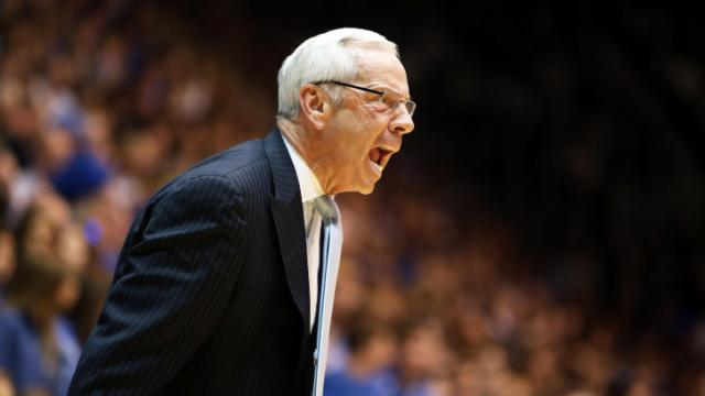 Roy Williams' sideline passion may contribute to an earlier retirement than some of his peers.