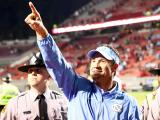 UNC builds big lead, beats NC State 45-34