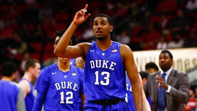 Matt Jones (basketball) Duke guard Matt Jones to miss Louisville game with ankle sprain