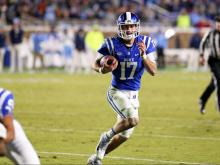 Duke upsets No. 15 UNC, 28-27