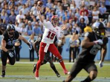 NC State holds off UNC in regular season finale, 28-21