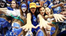 IMAGES: Posters and paint: Crazies welcome rival UNC