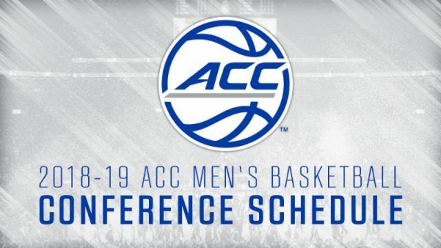 graphic about Unc Basketball Schedule Printable called ACC, neighborhood universities announce 2018-19 basketball routine