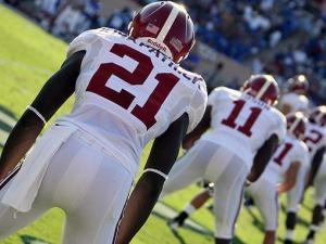 Special teams lines up during No. 1 and reigning National Champion Alabama's 62-13 win over Duke on Saturday, Sept. 18, 2010 in Durham.