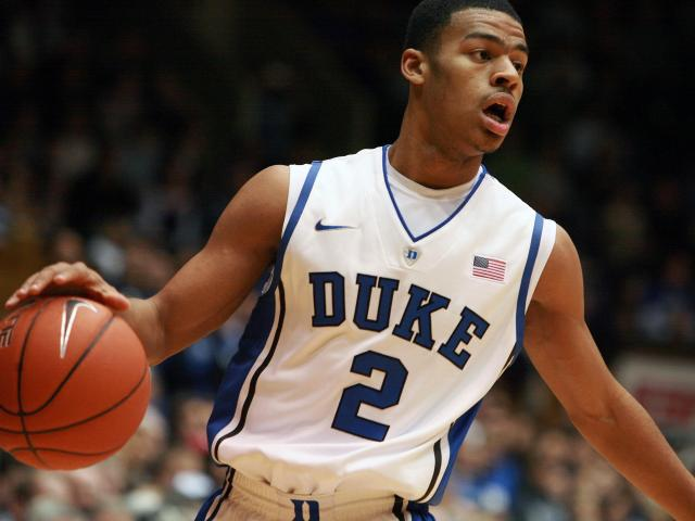 Duke's Quinn Cook during the Blue Devils' game against Wake Forest on Thursday, January 19, 2012 in Durham, NC (Photo by Jack Morton).