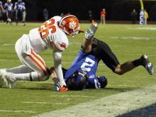 Clemson overwhelms Duke, 56-20