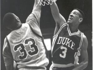 Phil Henderson played at Duke from 1986-90. (Photos: Courtesy Duke Photography/Duke Sports Information)
