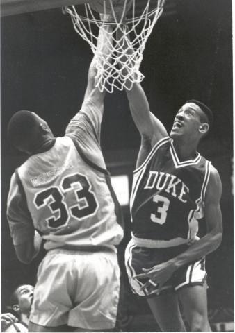Phil Henderson played at Duke from 1986-90. (Photos: Courtesy Duke Photography/Duke Sports Information)
