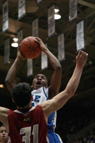 Duke's Rasheed Sulaimon during the Blue Devils' 89-68 victory over Boston College on Sunday, February 24, 2013 in Durham, NC (Photo by Jack Morton).