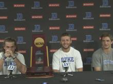 5/2013: Duke: We had each other's back all year