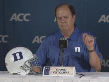 Cutcliffe: Good not to worry about bowl game