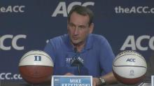 Krzyzewski: Finishing No. 1, that's a goal