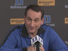Krzyzewski: Our team is the best it's been right now