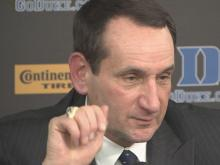 Krzyzewski: I'm not surprised to see Jim's fire