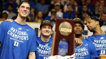 IMAGES: Duke welcomes national champion Blue Devils