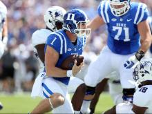 Duke sputters in 2nd half, falls to No. 23 Nothwestern