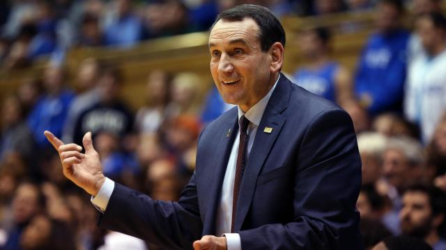 Duke's Krzyzewski recovering after knee replacement surgery