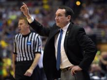 No. 1 seed Oregon beats Duke 82-68 in Sweet 16
