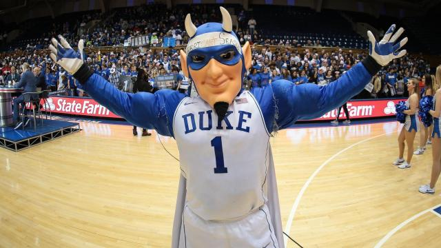 ESPN Game Day visits Cameron Indoor Stadium at Duke University on Saturday January 21, 2017. The kick off show began at 11:00 AM in anticipation of the Duke Miami game at 8:00 PM. (Chris Baird / WRAL Contributor).