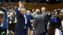 IMAGE: Krzyzewski to have knee replacement surgery, Duke cancels trip to Dominican Republic