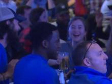 Duke fans celebrate