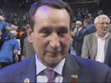 Krzyzewski: I can't compare this to anything