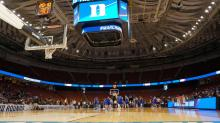 IMAGES: Duke practices at NCAA Tournament in Greenville, SC