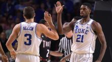 IMAGES: Duke rolls past Troy in NCAA opener, 87-65