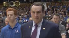 Gravley: Turnover part of the game for Duke, Krzyzewski