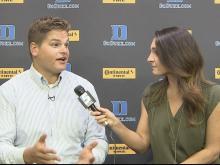 Harding: Duke must be more physical to beat Northwestern