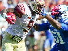 Duke drops third straight game 17-10 to FSU