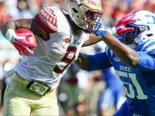 Duke drops third straight game 17-10 to FSU