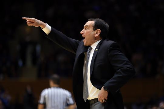 What Mike Krzyzewski said after Duke's decisive win over Wake Forest