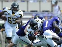 East Carolina awakens late to beat App. St., 35-13