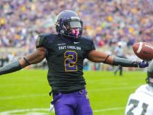 ECU dominates Southern Miss, 55-14
