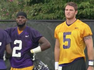 The quarterback and the wide receiver are bound together by natural order of football law. However, a simple pitch-and-catch can't adequately sum up the Pirate partnership of Shane Carden and Justin Hardy.