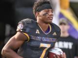 Navy gets best of ECU, 66-31