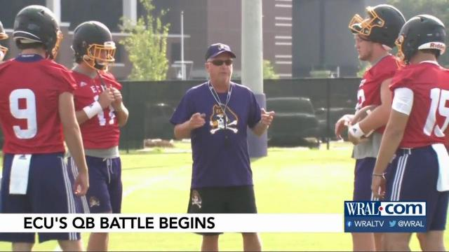 Question remains who will start at QB for East Carolina