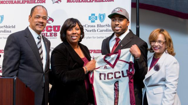 Jerry Mack was named the new head football coach at North Carolina Central University Thursday.