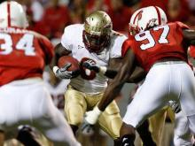 Check out the images from the Pack's loss to the Seminoles in Chuck Amato's first game back at Carter-Finley Stadium.