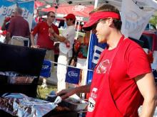 Fans of N.C. State enjoyed fun in the sun Sept. 3 before the game with South Carolina.