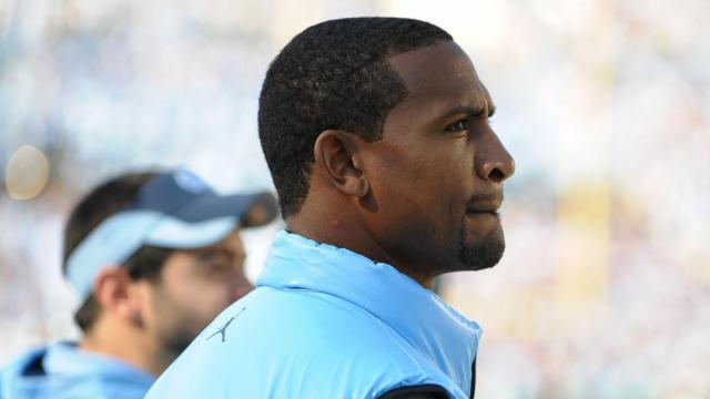 UNC great Dre Bly was in Kenan Stadium for the North Carolina Tar Heels vs. N.C. State Wolfpack game, Saturday, November 20, 2010 at Kenan Stadium in Chapel Hill, N.C.